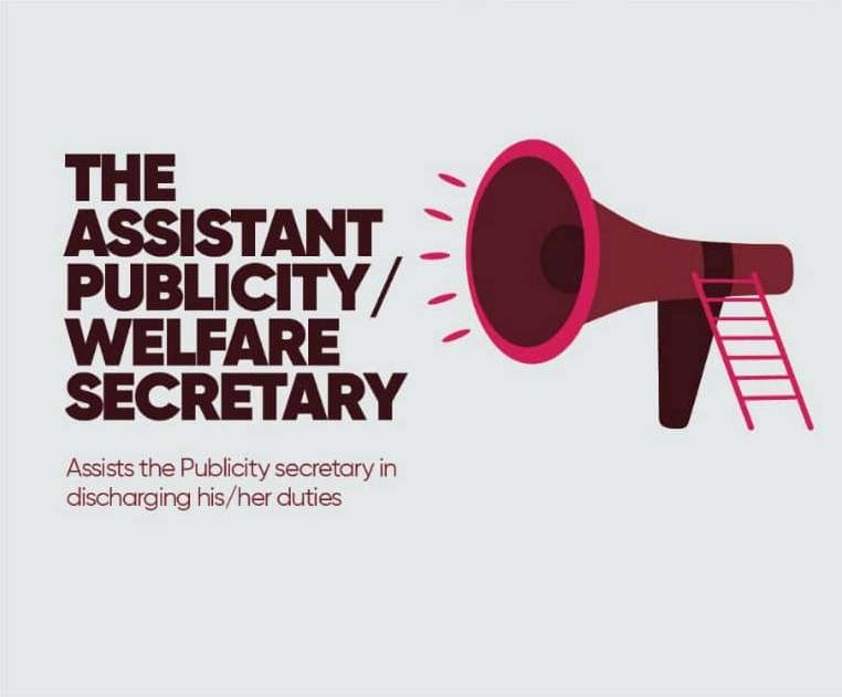 Assistant Publicity And Welfare Secretary