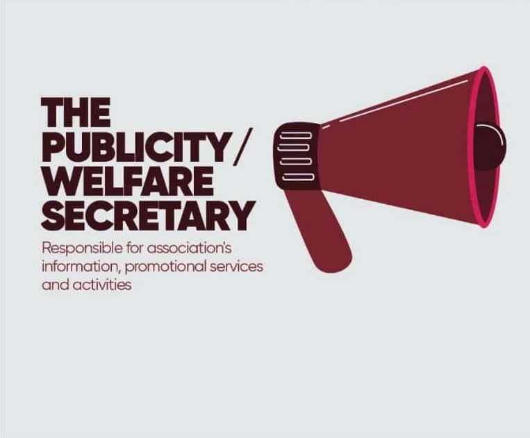 Publicity And Welfare Secretary
