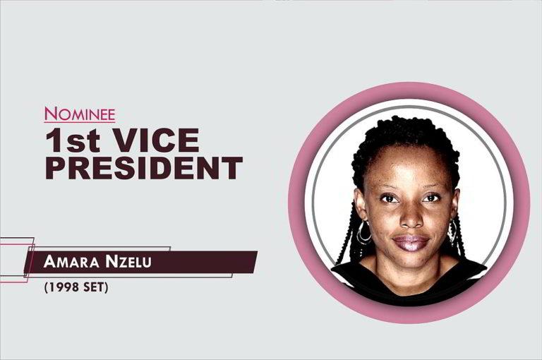 1st Vice President - 2021-2023 - Amara Nzelu