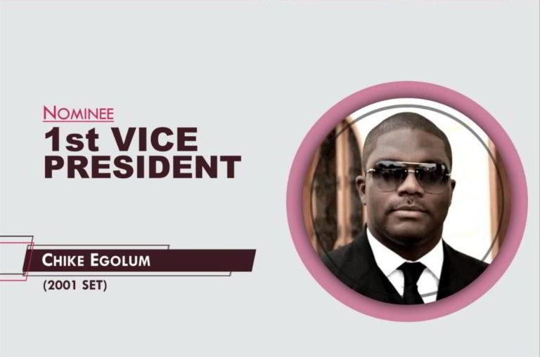 1st Vice President - 2021-2023 - Chike Egolum