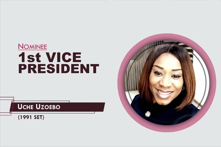 1st Vice President - 2021-2023 - Uche Uzoebo