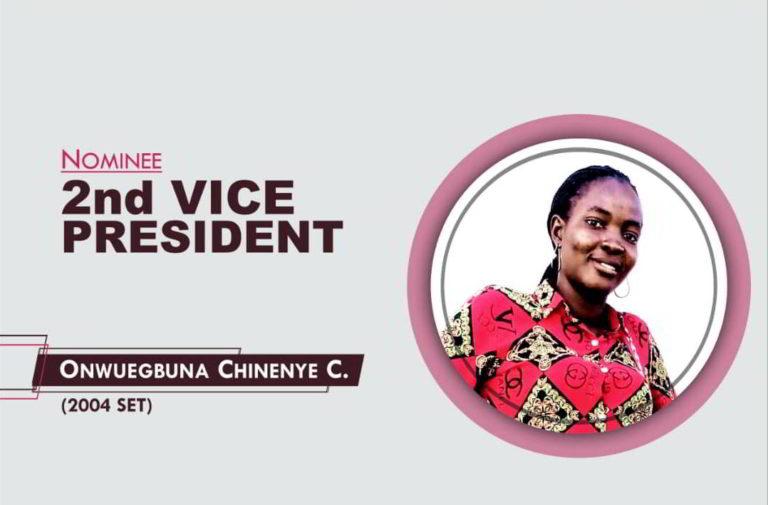2nd Vice President - 2021-2023 - Chinenye Onwuegbuna