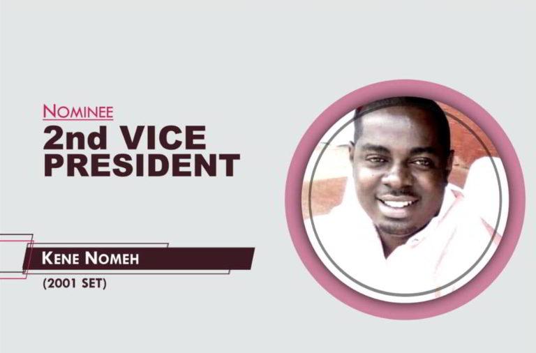 2nd Vice President - 2021-2023 - Kene Nomeh