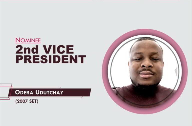 2nd Vice President - 2021-2023 - Odera Udutchay