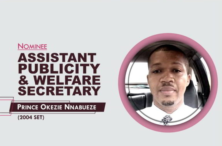 Assistant Publicity and Welfare Secretary - 2021-2023 - Prince Okezie Nnabueze