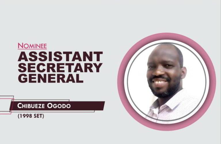 Assistant Secretary General - 2021-2023 - Chibueze Ogodo