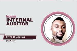 Internal Auditor - 2021-2023 - Peter Ohabuenyi
