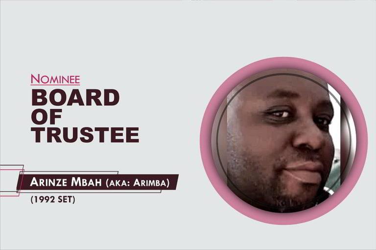 Member, Board of Trustees - 2021-2026 - Arinze Mba
