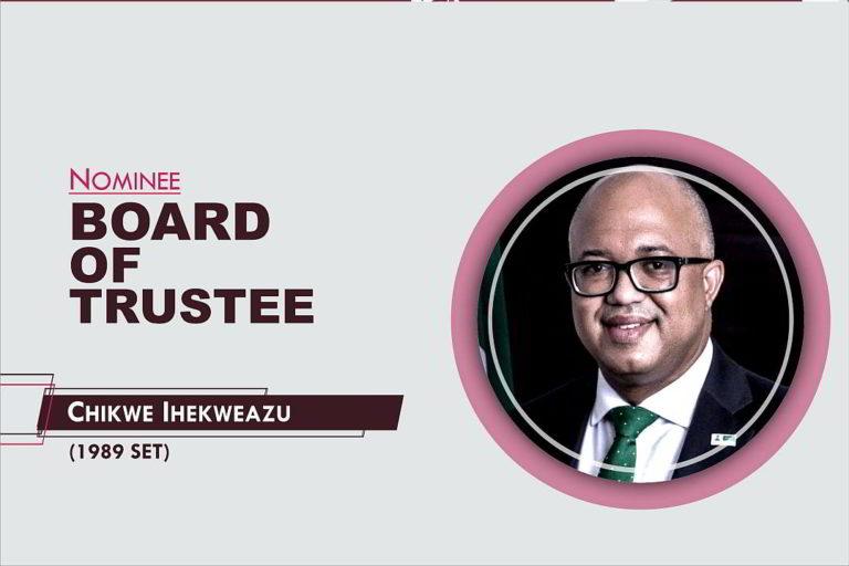 Member, Board of Trustees - 2021-2026 - Chikwe Ihekweazu