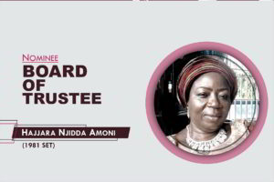 Member, Board of Trustees - 2021-2026 - Hajjara Njidda Amoni