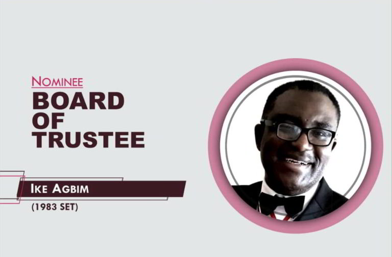 Member, Board of Trustees - 2021-2026 - Ike Agbim