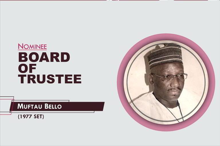 Member, Board of Trustees - 2021-2026 - Muftau Bello