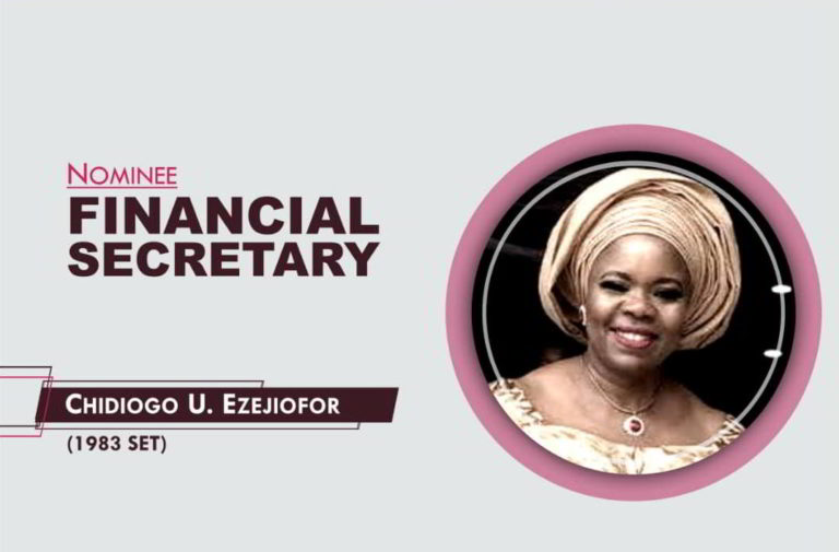 Financial Secretary- 2021-2023 - Chidiogo Ezejiofor