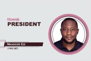 The President - 2021-2023 - Nnadozie Eze