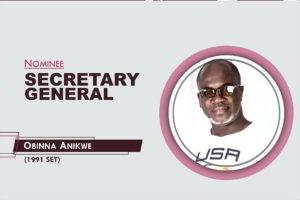 Secretary General - 2021-2023 - Obinna Anikwe