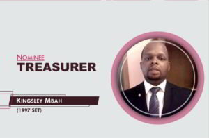 Treasurer- 2021-2023 - Kingsley Ifeanyi Mbah